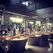 Step 1: Mixing. Parmigiano-Reggiano D.O.P. factory, Modena, Italia.