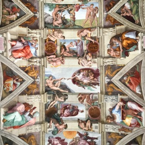 Sistine Chapel - yes they let us take photos, no flash.