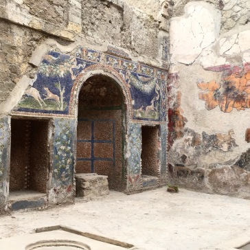 It's in better shape than our house. Ercolano, Italy
