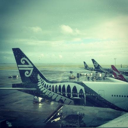 Air New Zealand, Auckland.