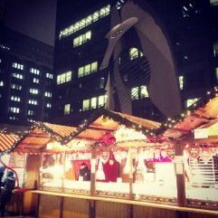 Chicago Christmas market.