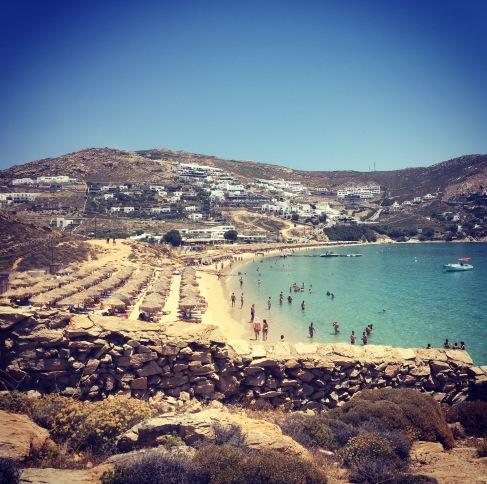 Elia Beach, Santorini